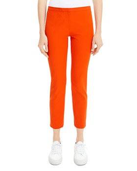 77f7e958a0 Theory - Classic Cropped Skinny Pants ...