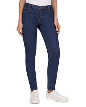 Gerard Darel - Noelie Low Rise Slim-Leg Jeans in Blue