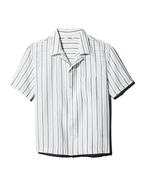 Lemlem - Camp Notch Collar Striped Regular Fit Shirt