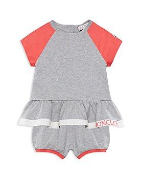 Moncler - Girls' Raglan Dress & Shorts Set - Baby