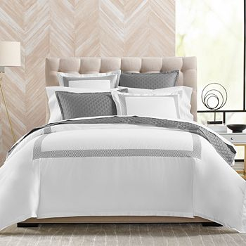 Hudson Park Collection - Embroidered Geo Standard Sham - 100% Exclusive
