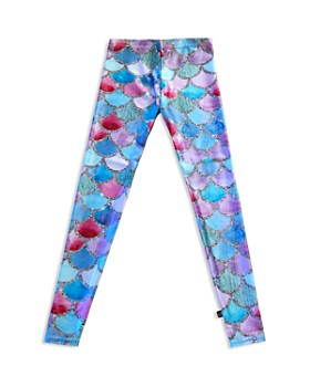 366a843f Terez - Girls' Mermaid-Scale Leggings - Little Kid