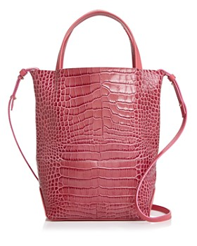 Alice.D - Small Croc-Embossed Tote