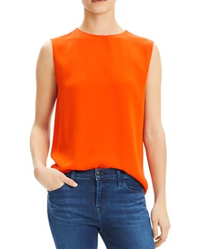Theory - Sleeveless Silk Top