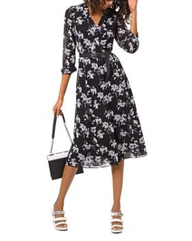 9313f4dfa771 MICHAEL Michael Kors - Floral-Print Midi Dress ...