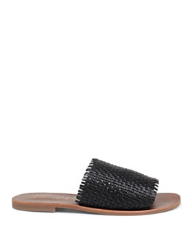 Splendid - Women's Truth Woven Leather Slide Sandals