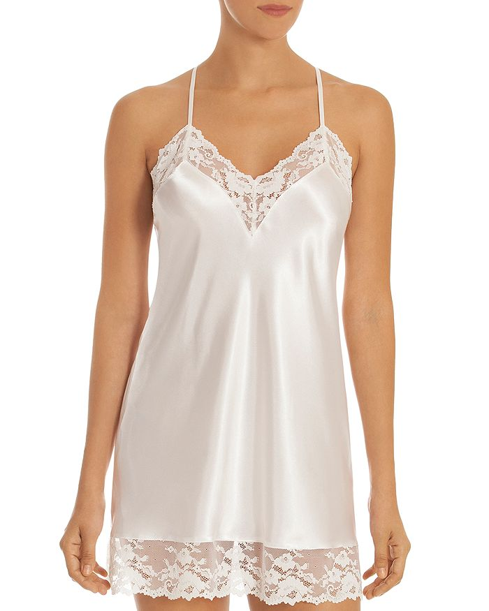 In Bloom by Jonquil - Two-Tone Lace & Satin Chemise