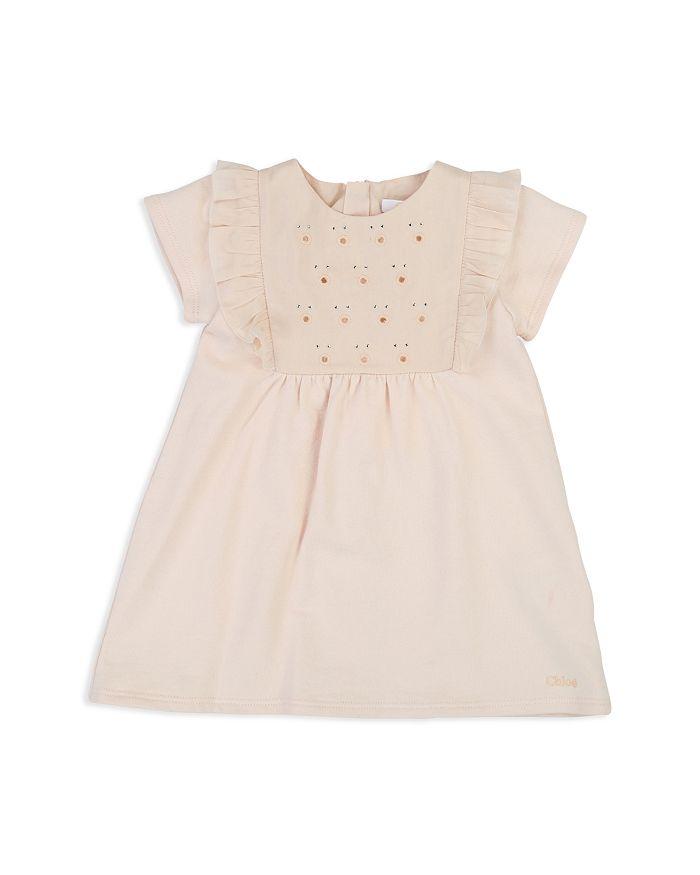 Chloé - Girls' Eyelet & Ruffle Dress - Baby