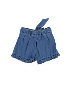 Chloé - Girls' Ruffled Denim Shorts - Baby