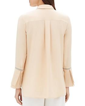 Lafayette 148 New York - Katja Embellished Silk Blouse