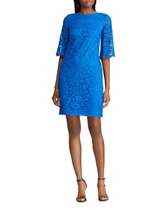Ralph Lauren - Lace Shift Dress