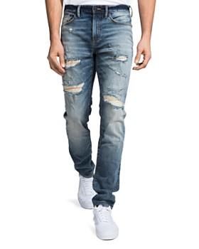 PRPS - La Sabre Slim Fit Jeans in Medium Wash