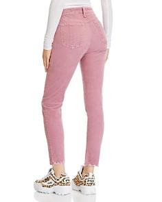 rag & bone/JEAN - Nina Skinny Corduroy Jeans in Mauve