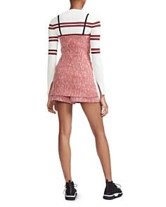 Maje - Rever Tweed Mini Skort Dress