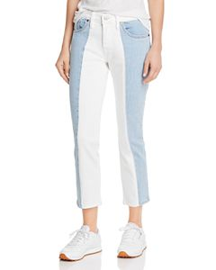 eb08109b897 Levi's 501 Moto Straight Jeans in Show Teeth | Bloomingdale's