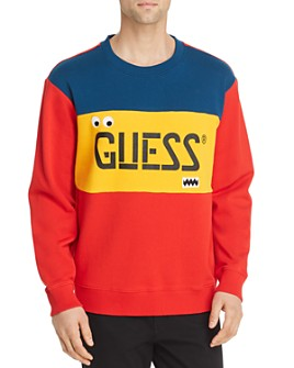 GUESS - Color-Block Logo Sweatshirt