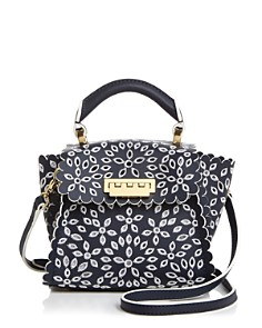 ZAC Zac Posen - Eartha Mini Eyelet Crossbody