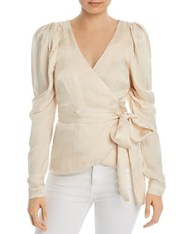 Alice McCall - Blue Moon Wrap Blouse