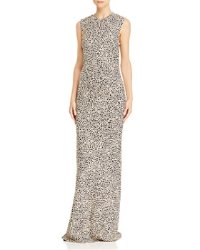 Rebecca Vallance - Anya Cheetah-Print Gown