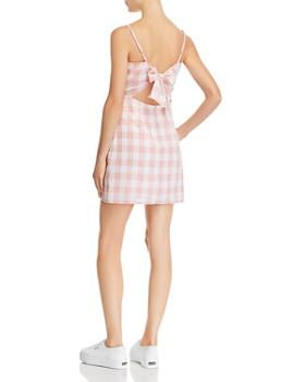 cfedcfb1771d ... AQUA - Gingham Tie-Back Dress - 100% Exclusive