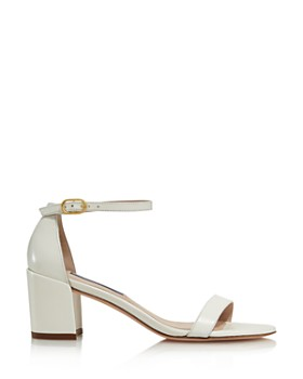 Stuart Weitzman - Women's Simple Block Heel Sandals