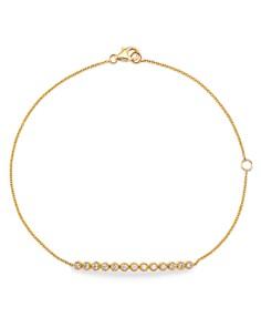 Bloomingdale's - Diamond Milgrain Bar Bracelet in 14K Yellow Gold, 0.25 ct. t.w. - 100% Exclusive