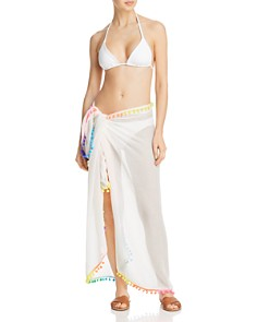 Echo - Pom-Pom Pareo Swim Cover-Up