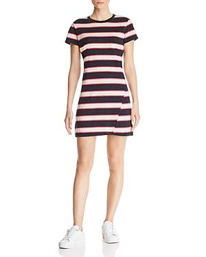Pam & Gela Dresses STRIPED T-SHIRT DRESS
