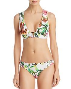 Trina Turk - Welcome To Miami Bikini Top & Twist Side Hipster Bikini Bottom - 100% Exclusive