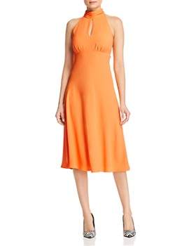 KAREN MILLEN - Empire-Waist Midi Dress - 100% Exclusive