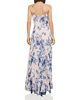 e2f967773b ... BCBGMAXAZRIA - Divine Bloom Ruffle Maxi Dress