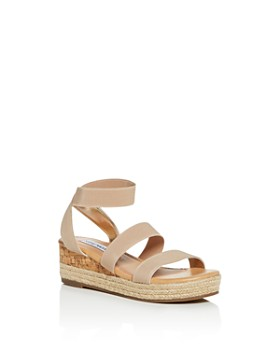 6709996f2a03 STEVE MADDEN - Girls  JBandi Strappy Platform Wedge Sandals - Little Kid