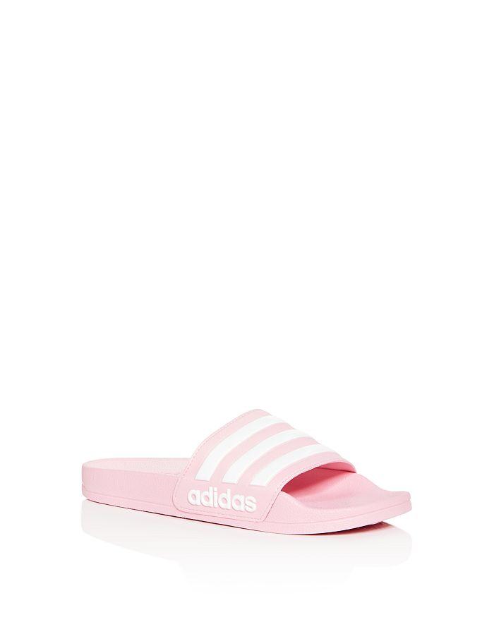 Adidas - Girls' Shower Slide Sandals - Toddler, Little Kid, Big Kid