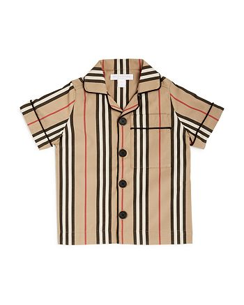 Burberry - Boys' Andres Icon Stripe Shirt - Little Kid, Big Kid