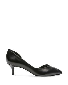 The Kooples - Women's Sanda Kitten Heel d'Orsay Pumps