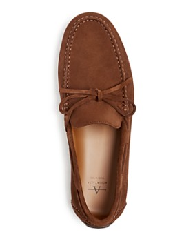 Aquatalia - Men's Brian Weatherproof Suede Drivers
