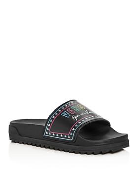 679f4274d82 Versus Versace - Men s Logo Slide Sandals ...