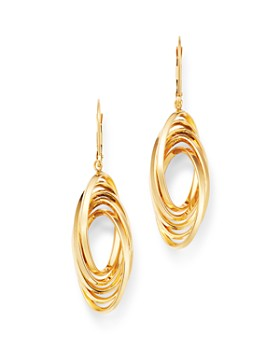 Bloomingdale's - 14K Yellow Gold Multi-Wire Drop Earrings - 100% Exclusive