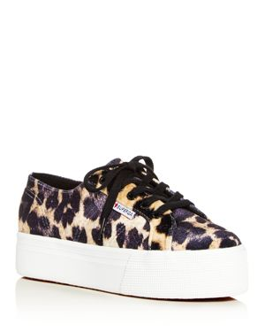 Superga Women's Low-Top Platform Sneakers