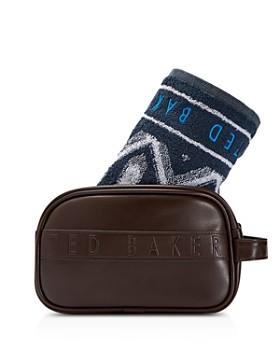 73cae8084b Ted Baker - Bibset Washbag   Towel Gift Set ...