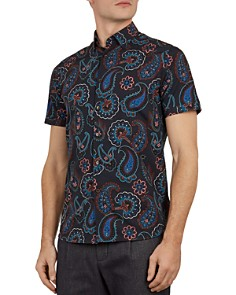Ted Baker - Dogg Paisley Slim Fit Shirt