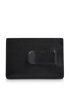 Tumi - Monaco Embossed Leather Money Clip Card Case
