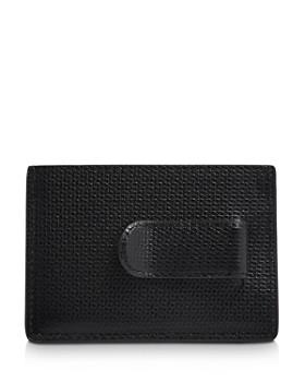 Tumi - Monaco Embossed Leather Money Clip Card Case