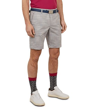 Ted Baker - Easiee Checked Golf Shorts