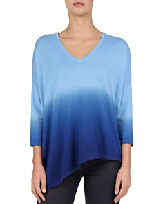 Gerard Darel - Jelena Dip-Dyed Asymmetric Ombré Sweater