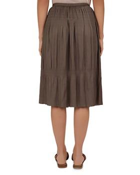 Gerard Darel - Indra Shirred Midi Skirt