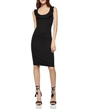 6fb15d9b0d8 BCBGENERATION - Ruffle Crisscross Back Dress ...