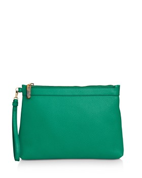 Whistles - Chester Leather Zip Pouch
