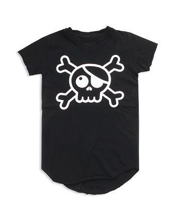 NUNUNU - Unisex Raw Skull Tee - Baby