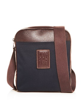 Longchamp - Boxford Nylon & Leather Small Messenger Bag